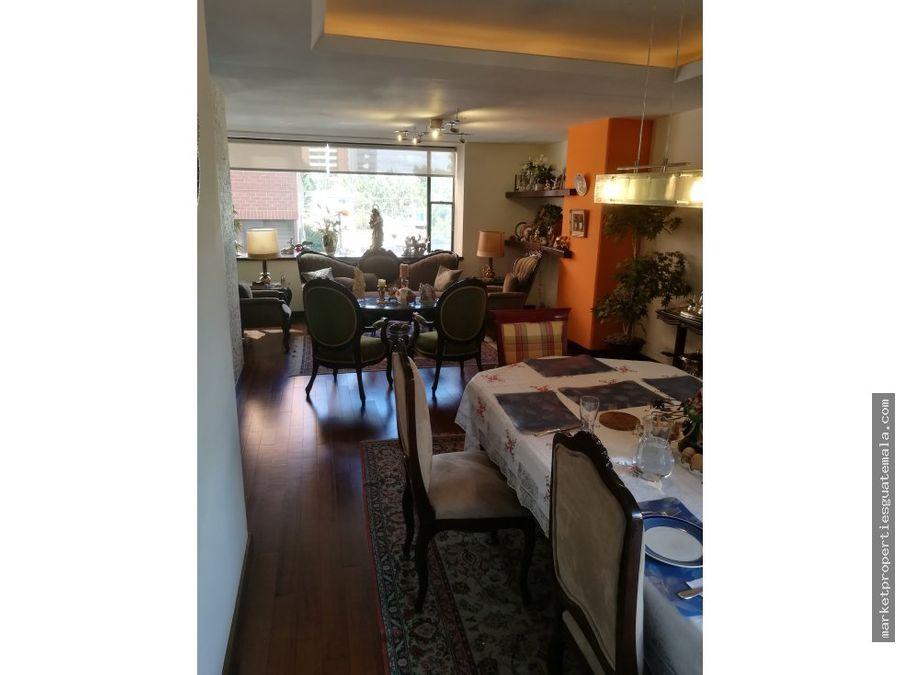 apartamento en venta zona 14 remodelado