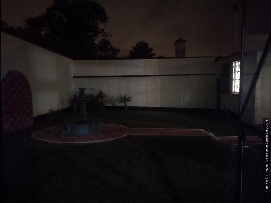 casa en alquiler zona 15 guatemala