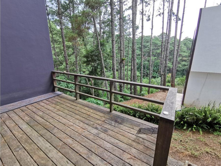 casa en alquiler en km 13 carretera a el salvador pinos de muxbal
