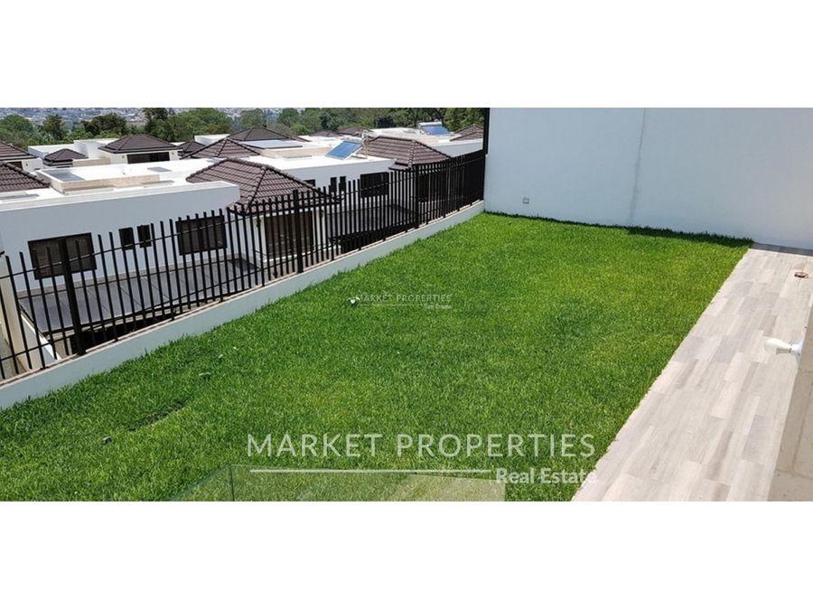 casa en venta en zona 16 lomas de san isidro