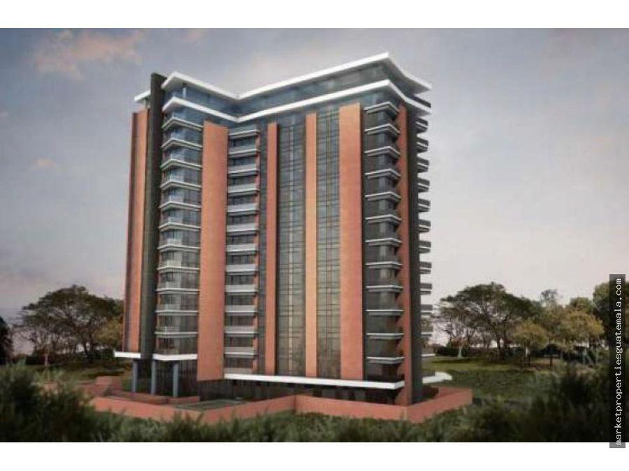 apartamento en venta en zona 14 edificio santa ines