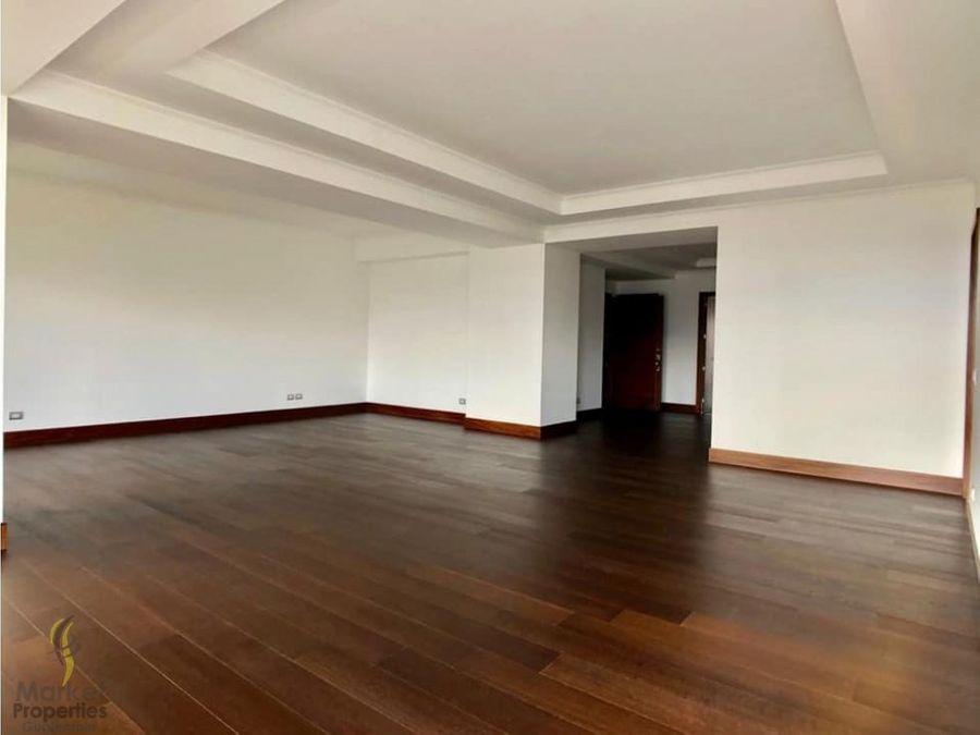 venta de apartamento en zona 14 edificio terazu