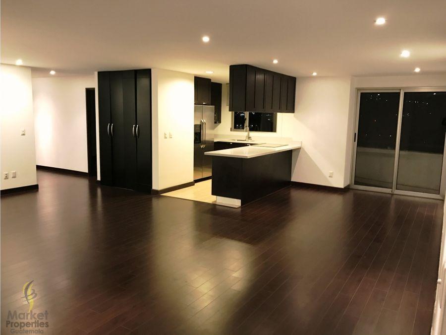 apartamento en alquiler zona 14 attica