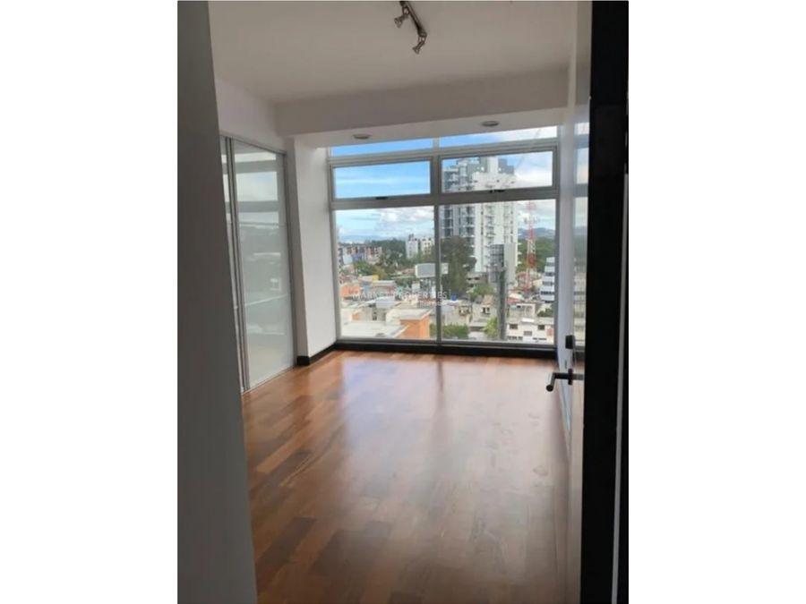 apartamento en renta en zona 10 edificio 19diez