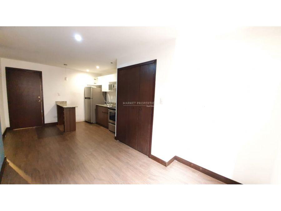 apartamento en renta en zona 15 edificio rivoli