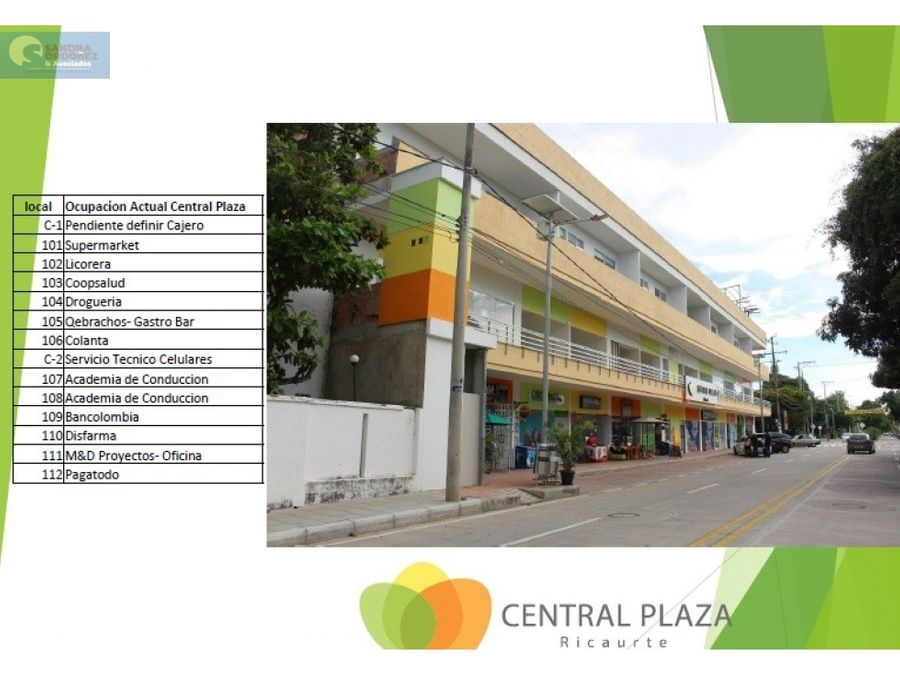 venta locales comerciales ricaurte 40 m