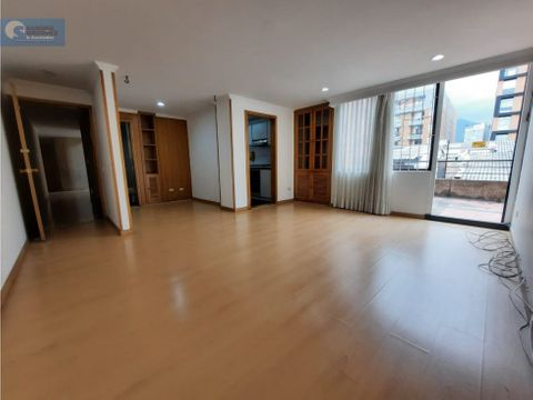 apartamento en vta o arriendo 79 m 30 de terraza