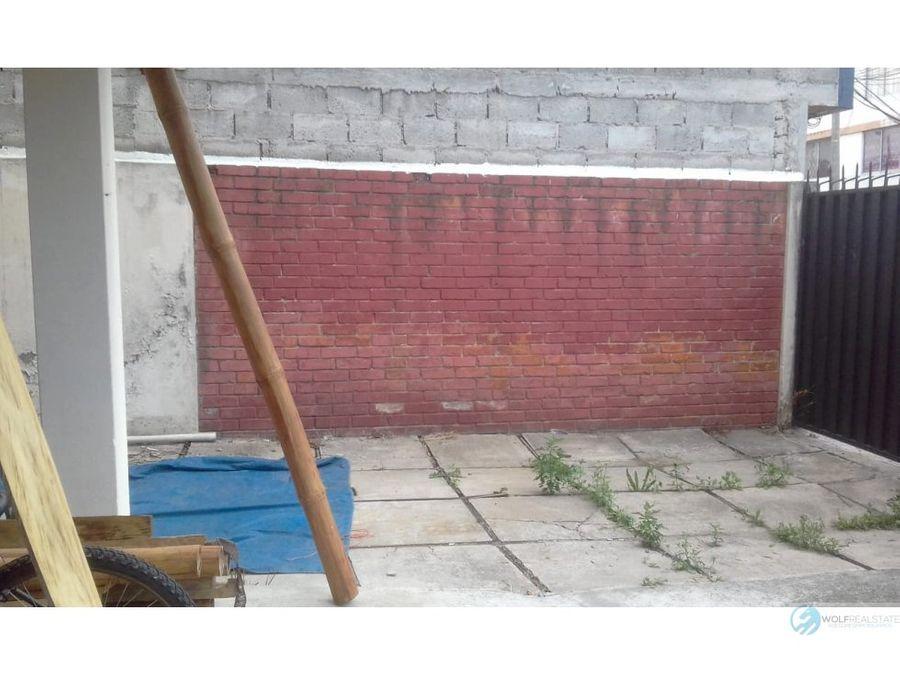 casa rentera de venta centro norte de quito telegrafo