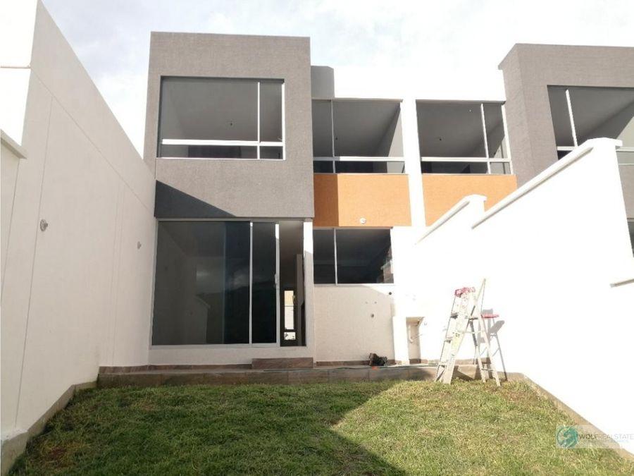 casa de venta en tumbaco sector la morita