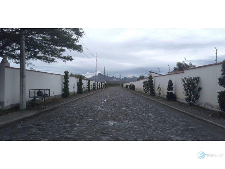 terreno de venta san isidro malchingui