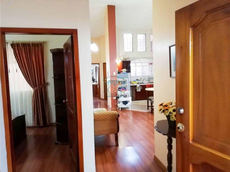 casa amoblada de venta