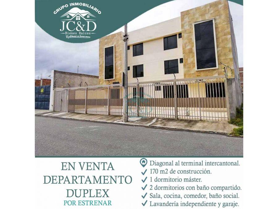 departamento duplex cerca a la expoch