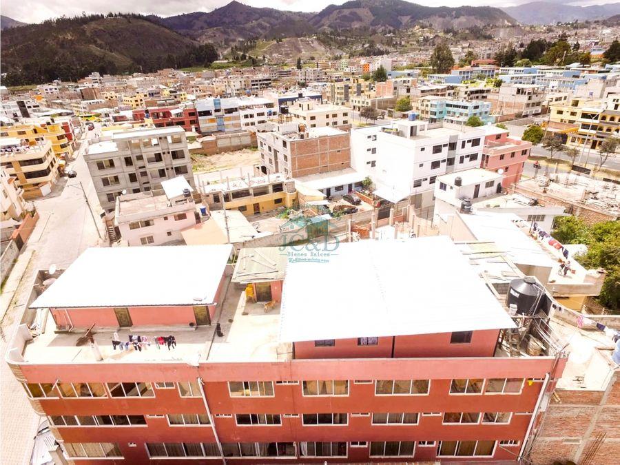 edificio rentero sector la espoch riobamba