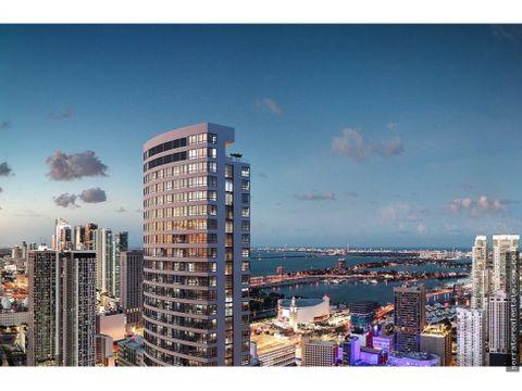 proyecto de apartamentos de lujo en downtown miami florida