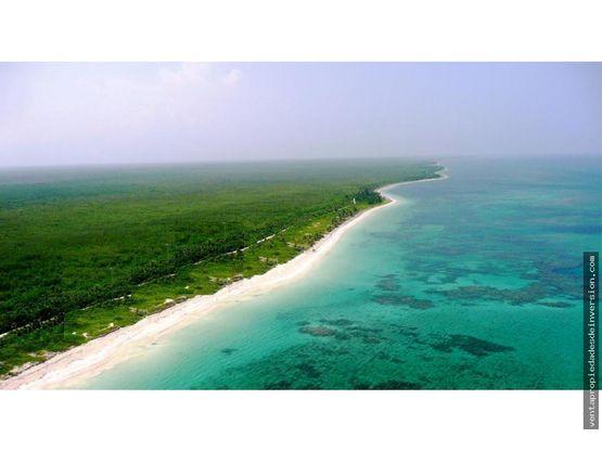 terreno mahahual xkalak camino costero 808 m2