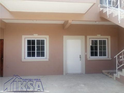 apartamento en residencial san juan