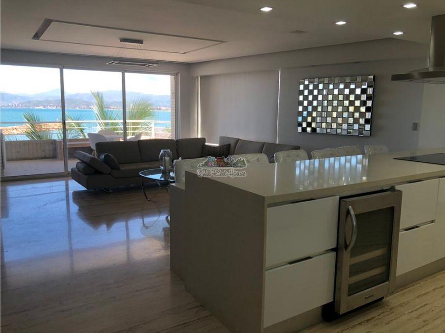 club de playa apartamento en venta lecheria