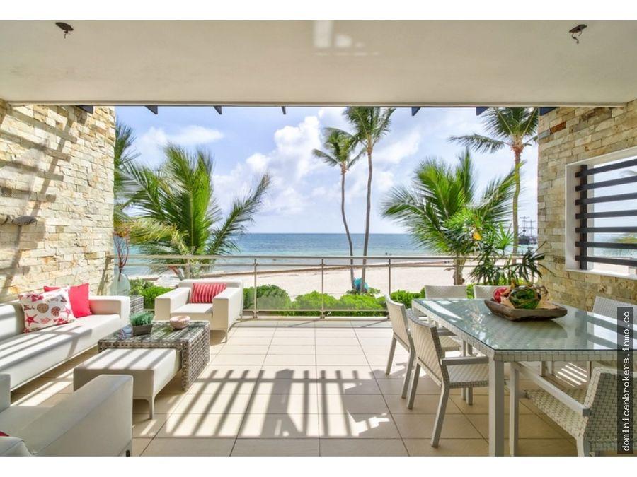 bavaro apartamentos en primera linea de playa