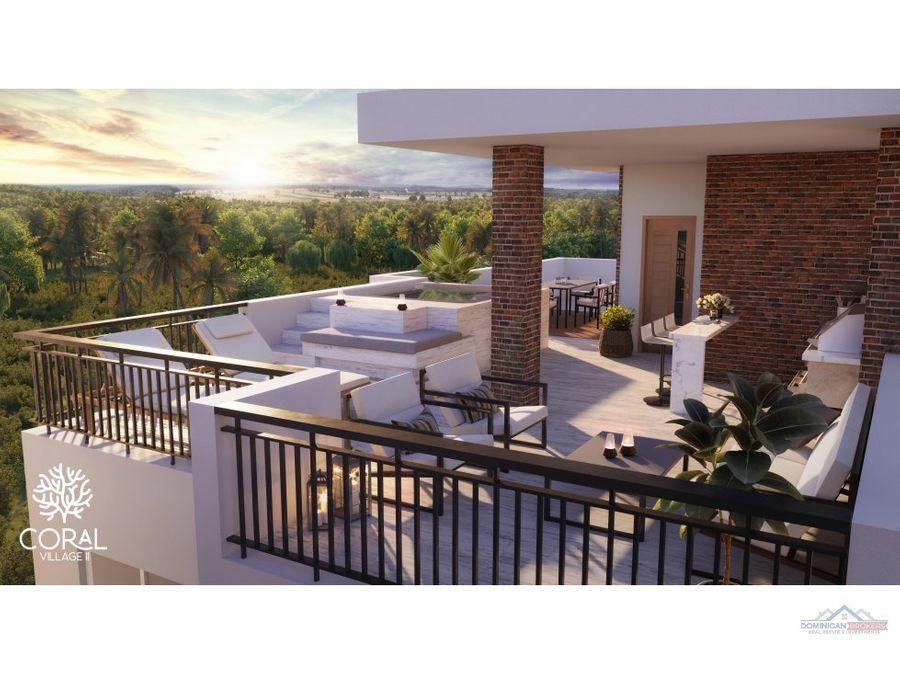 coral village ii apartamentos de 2 habitaciones cortecito punta cana