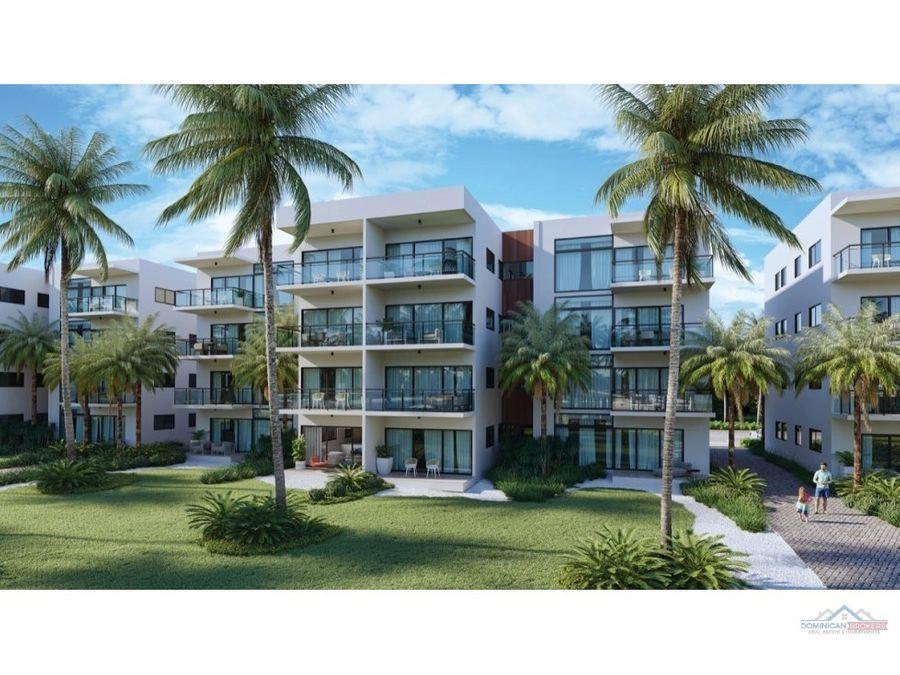 exclusivo proyecto de apartamentos con playa privada