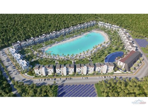 exclusivo proyecto de apartamentos con playa privada