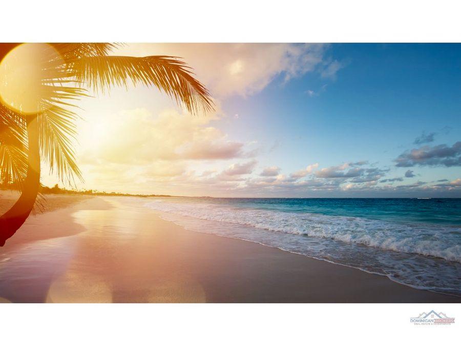 beach front condos in punta cana