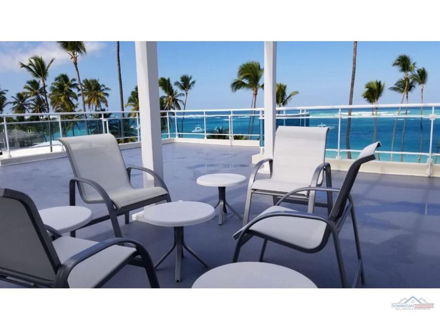 stunning beachfront penthouse 3br rooftop terrace punta cana