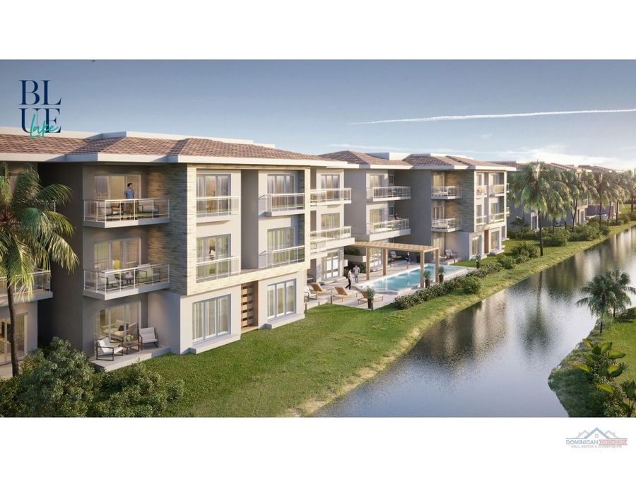 apartamentos blue lake cocotal punta cana con club de playa privado