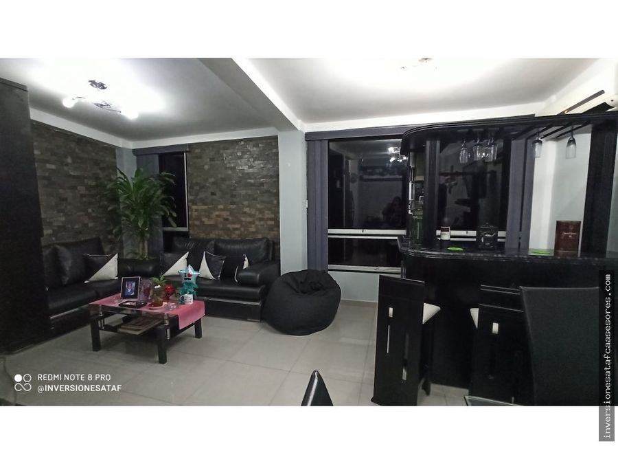 se vende apto 64mt2 3hab2b1pe jardines de pacairigua valle arriba