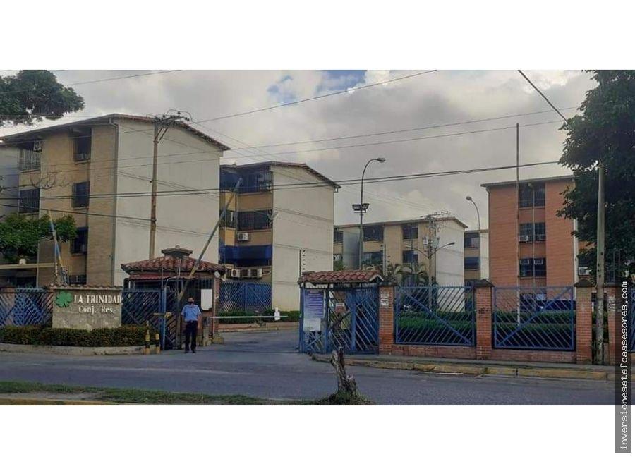 se vende apto 65m2 3h2b1pe la trinidad guatire