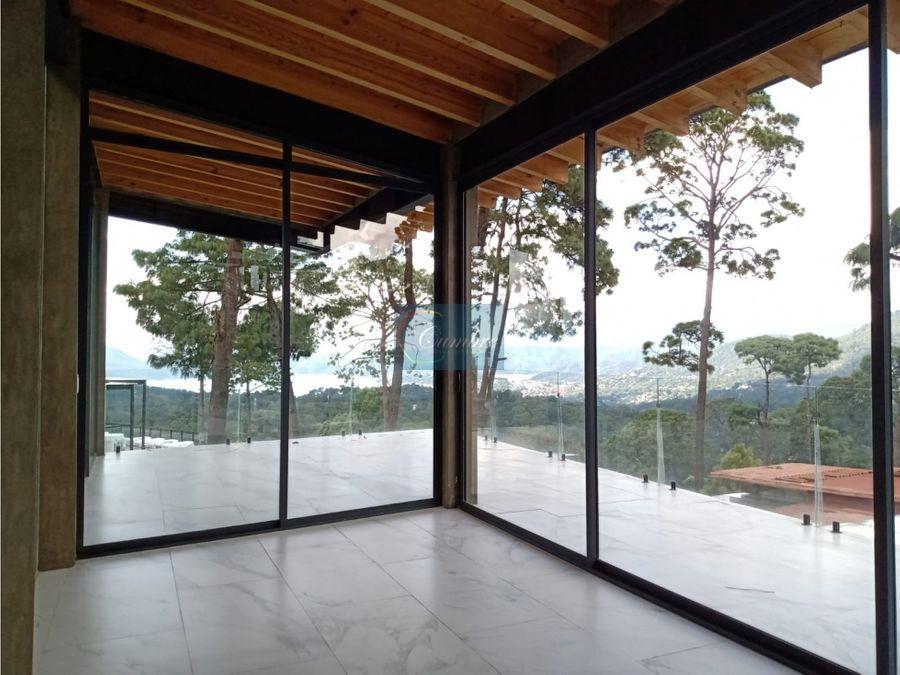 casa 6 con vista al lago