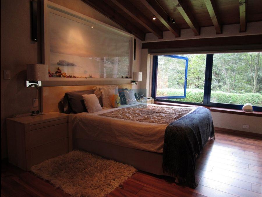 casa con bosque privado en avandaro