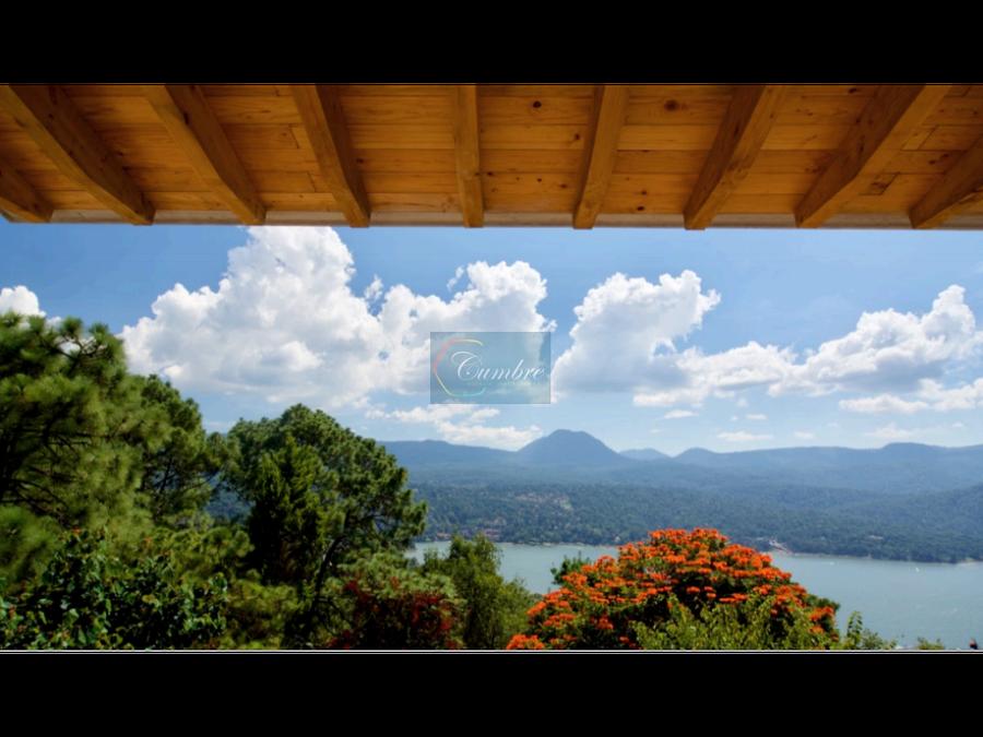 casa para estrenar con vista al lago en condominio azul