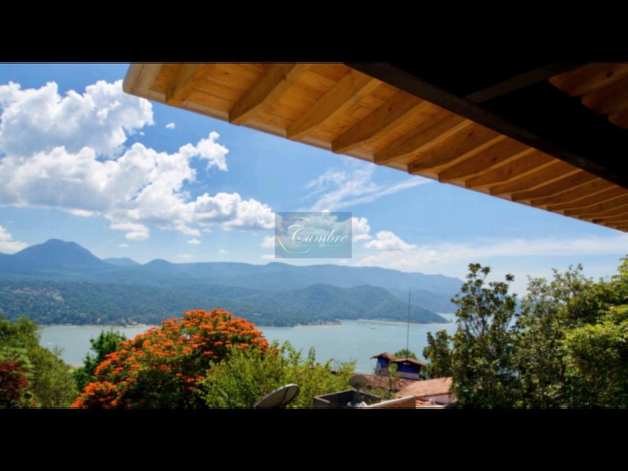 casa para estrenar en condominio con vista al lago