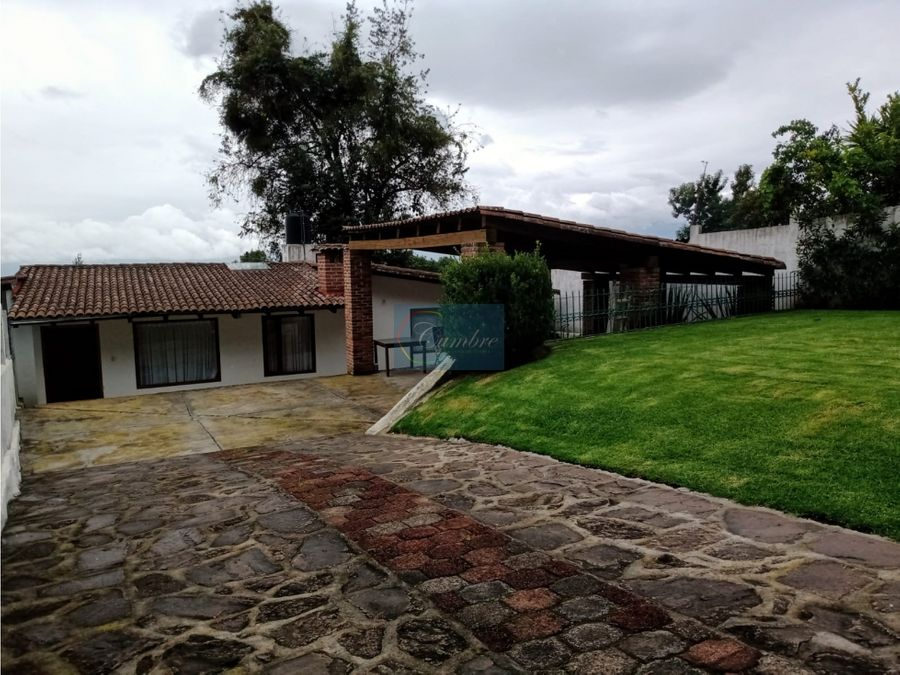 casa cerro gordo