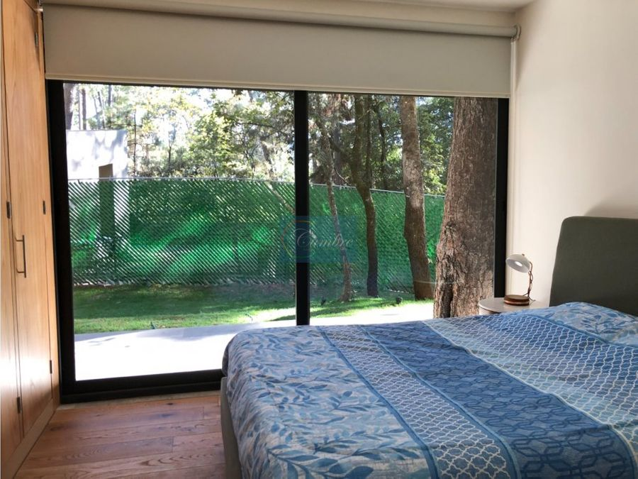 lujosas residencias en condominio boscoso
