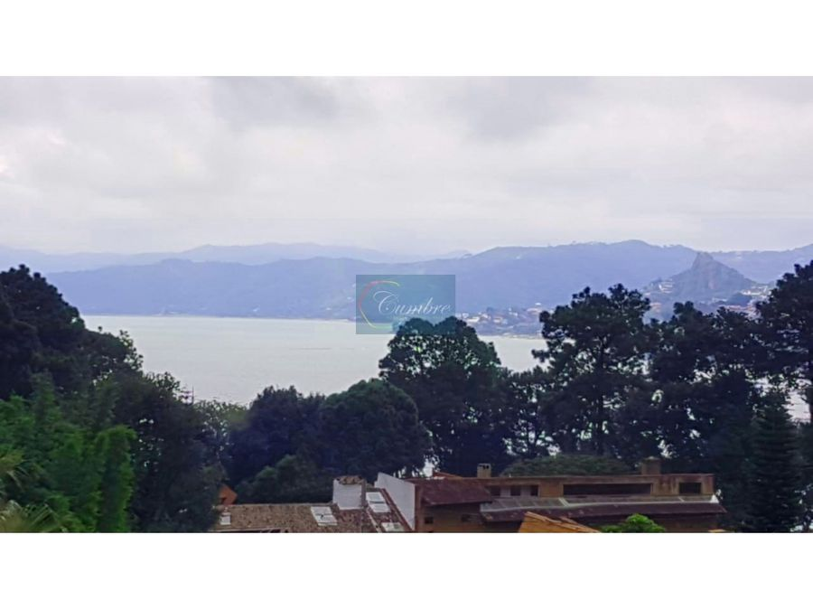 casa en avandaro con vista al lago