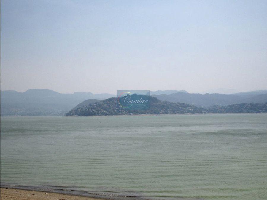 espectacular vista y acceso al lago