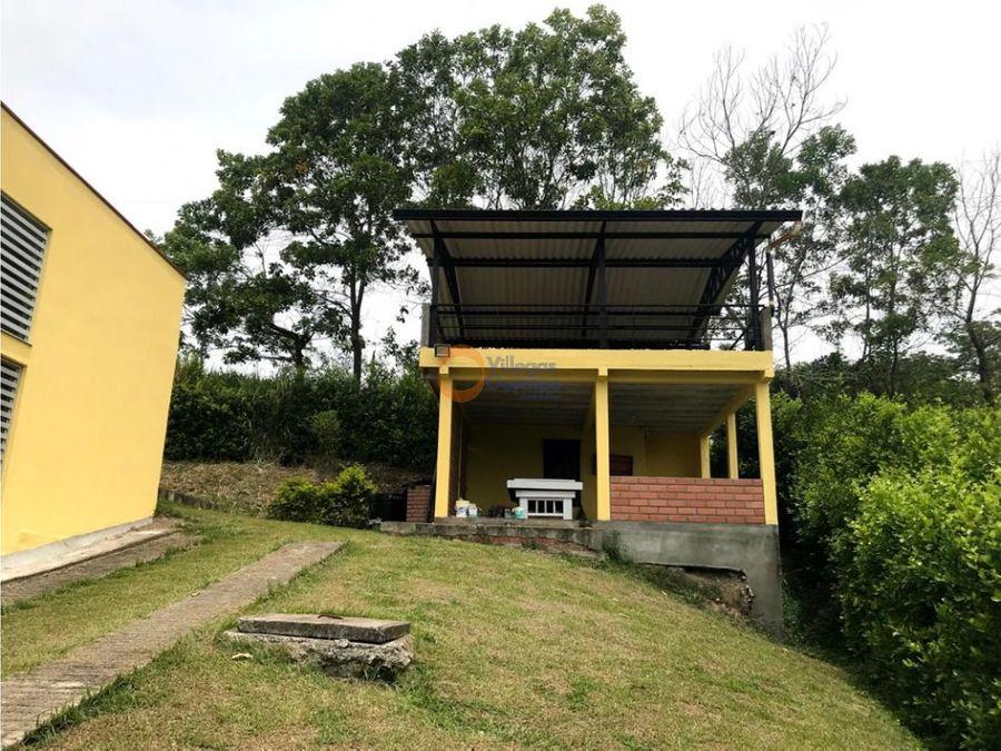 casa campestre en venta km 41 via manizales medellin