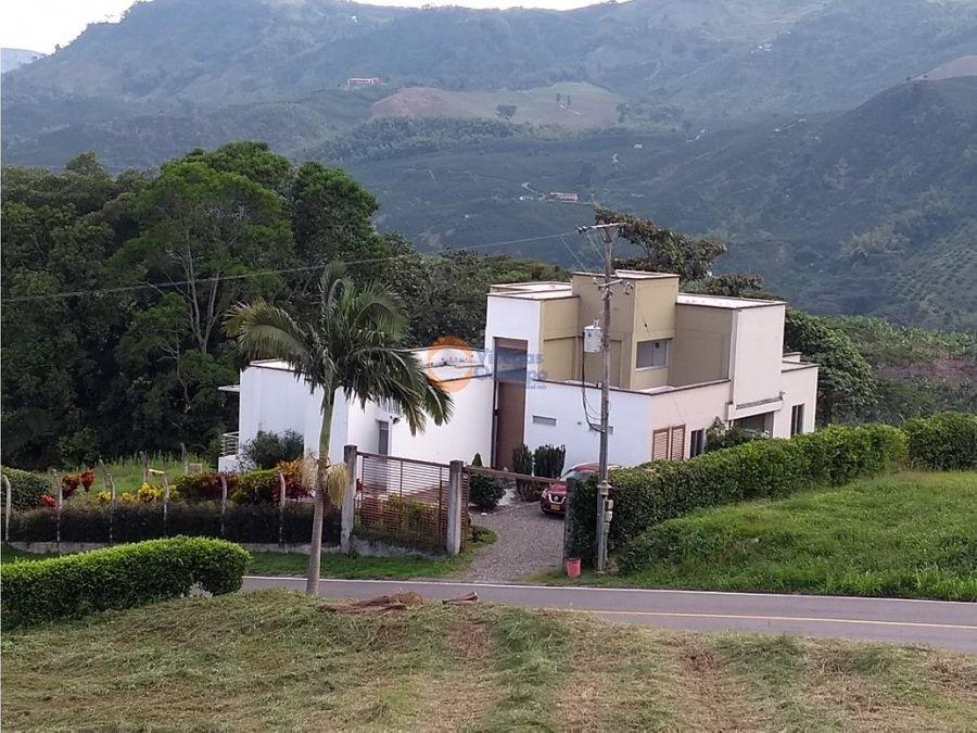 casa campestre en venta en vereda el rosario manizales