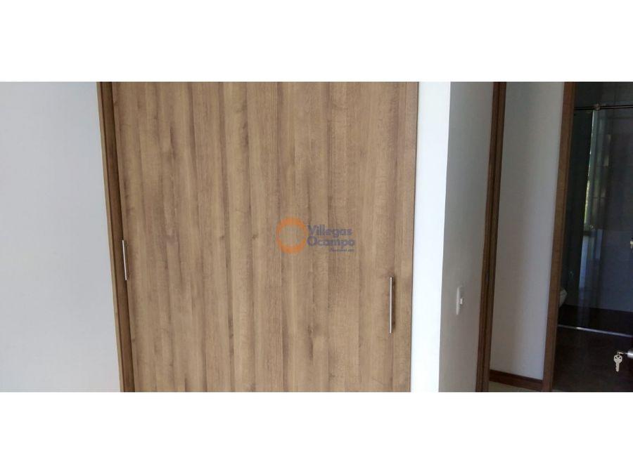 apartamento en alquiler o venta en bella suiza manizales