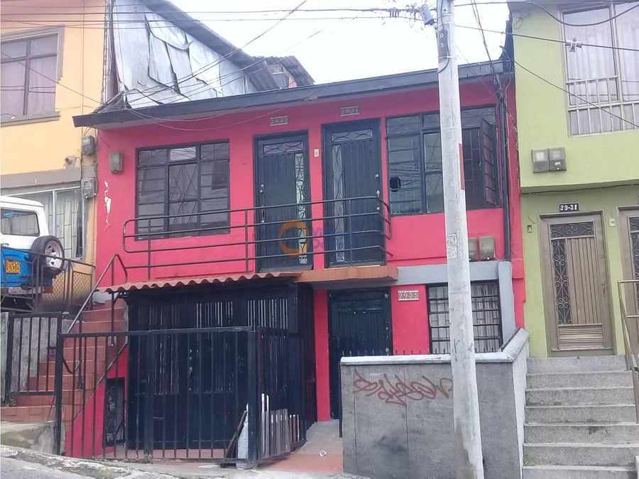 casa lote en venta barrio colombia manizales