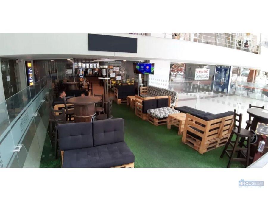local comercial de 80 m2 en plaza kendo republica del salvador