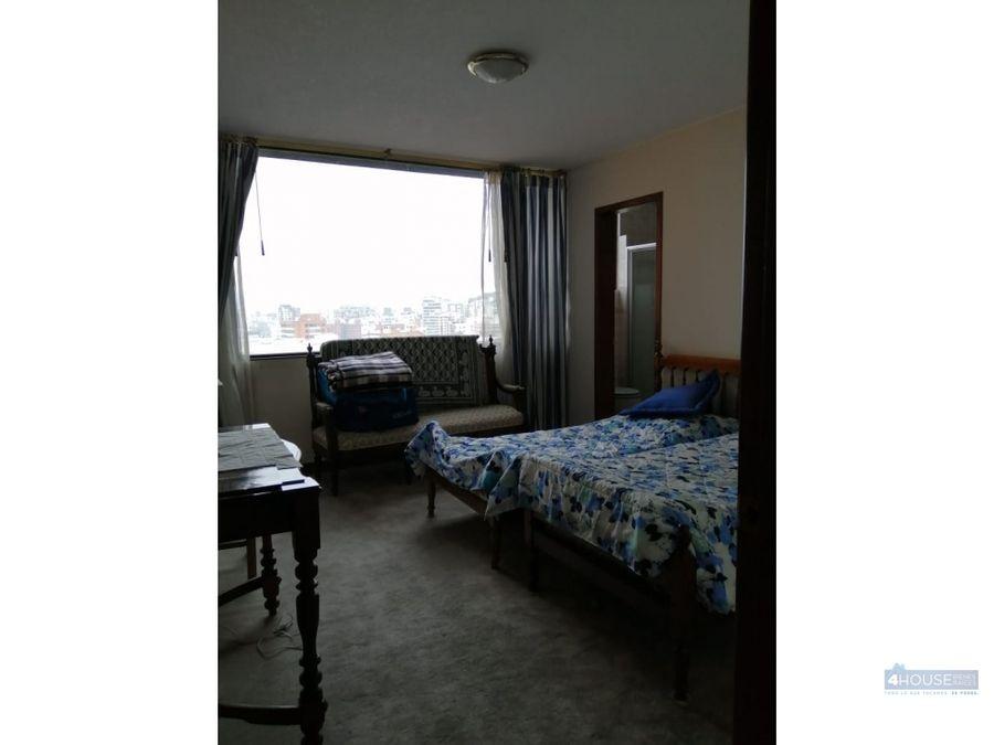 departamento de 3 dormitorios en sector gonzalez suarez