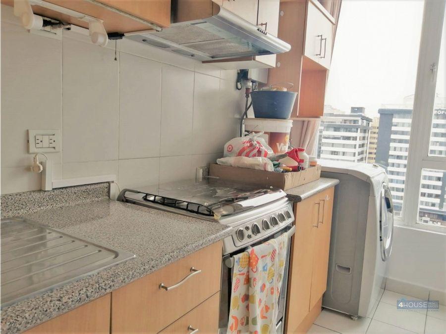 departamento amoblado de 2 dormitorios en korea plaza sector inaquito