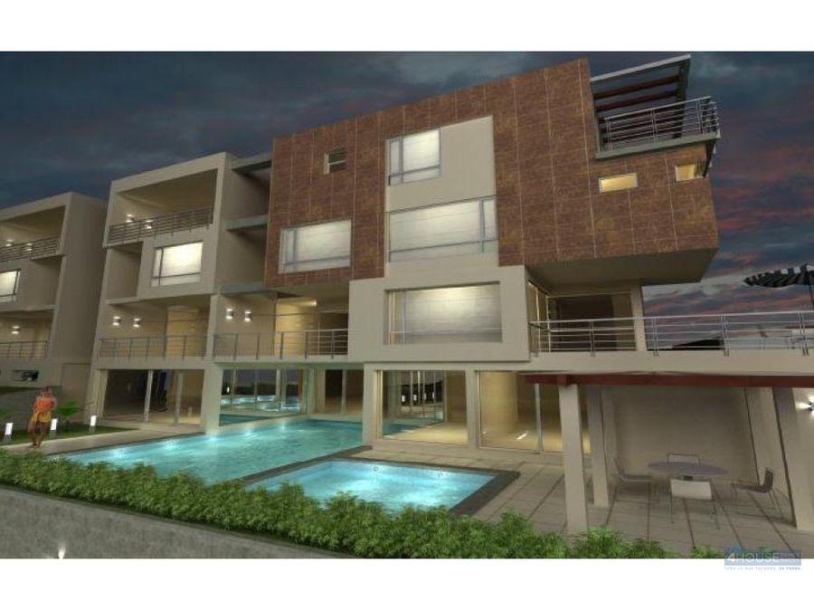 duplex de 2 dormitorios en edificio soleste cumbaya