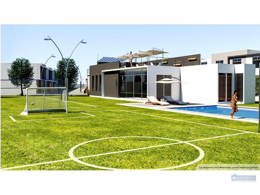 casa de 3 dormitorios en conjunto privado sector la armenia
