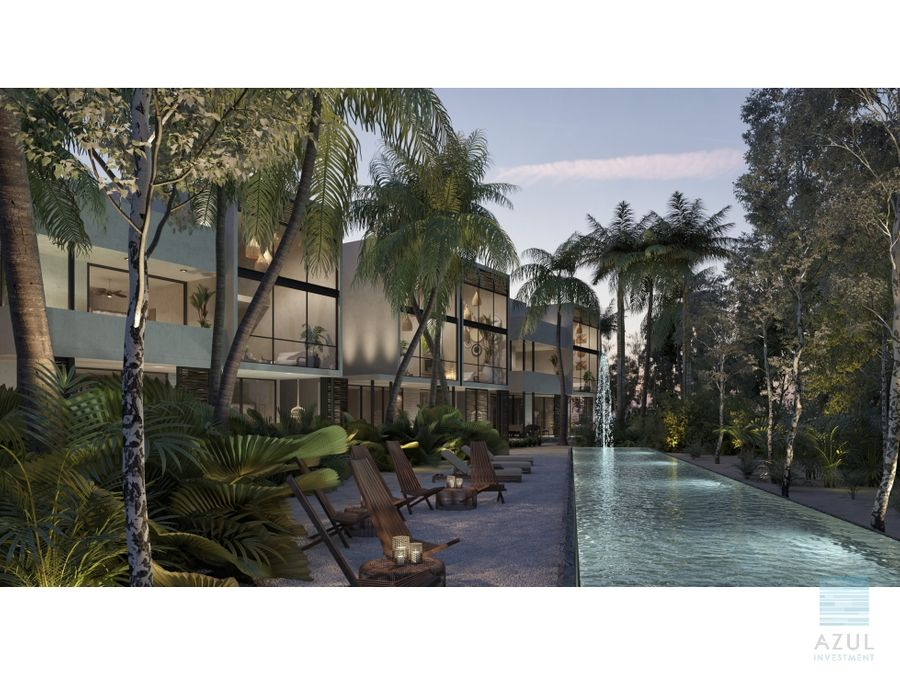 exclusivo departamento en venta tulum region 12