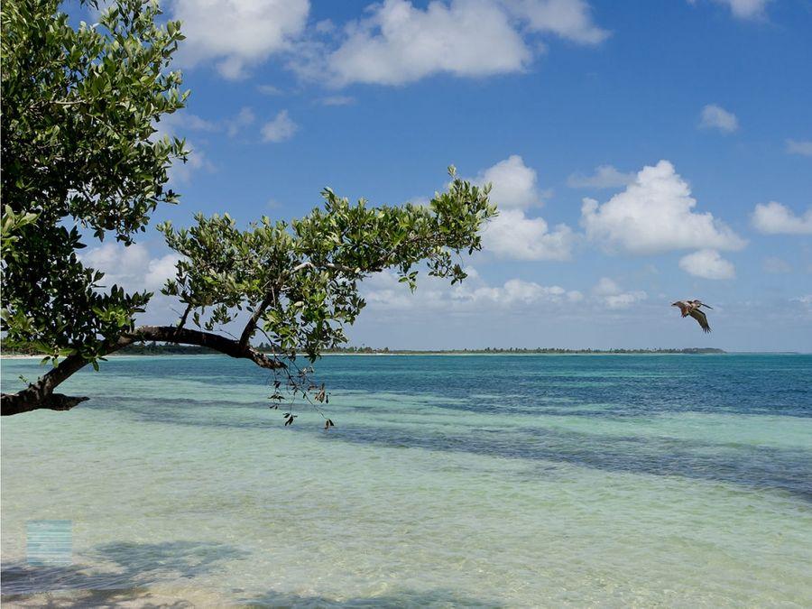 terreno frente al mar en tulum sian kaan