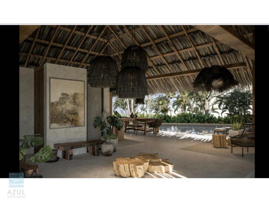 lujoso departamento en venta aldea maya tulum
